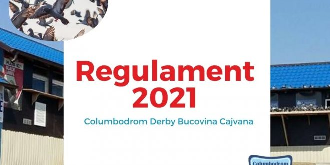 columbodrom cajvana regulament 2021